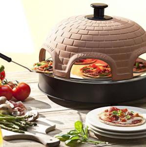 heerlijk pizza gourmetten met deze Pizzarette Stone